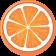 enfabebe icono dibujo naranja, vitamina C