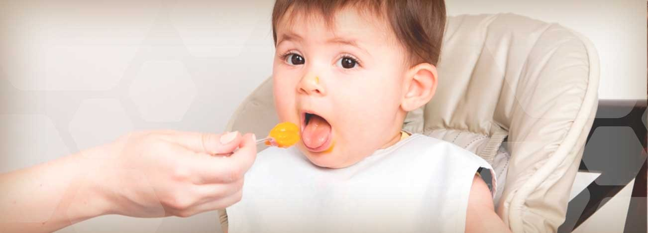 Guía de alimentación del bebé.