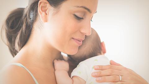 La nutrición de un bebé recién nacido
