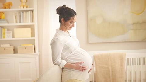 La nutrición del bebé comienza en el embarazo.