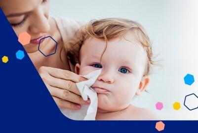 Limpiar los moquitos del bebé