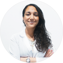 Dra. Ana Eugenia Reséndiz Rossetti, ginecóloga y obstetra