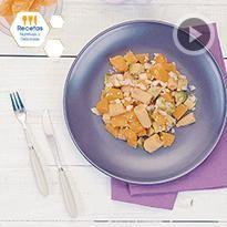 Calabacitas con queso panela