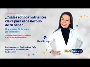 Embedded thumbnail for Cada bebé importa: nutrimentos clave en el desarrollo de tu bebé